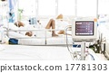 Electrocardiography monitor (ECG) in hospital 17781303