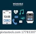 vector smartphone apps 17783307