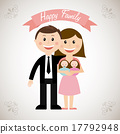 family design over gray background vector illustration 17792948