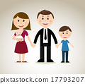 family design over gray background vector illustration 17793207