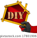 Do It Yourself - DIY -  Sign Shaped House 17801906