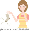 Smelling socks 17803456