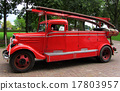 Antique Firetruck of red color Netherlands 17803957