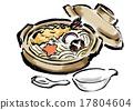 刷写 锅炒乌冬 食物 17804604