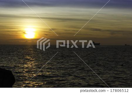 夕陽 高雄 西子灣 17806512