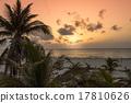 Sunset in Tulum 17810626