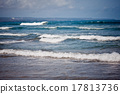 Ocean waves. Indian ocean. Bali. Indonesia 17813736