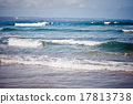 Ocean waves. Indian ocean. Bali. Indonesia 17813738