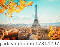 eiffel tour and Paris cityscape 17814297
