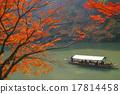아라시야마의 단풍 17814458