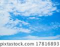 蓝蓝的天空 云 云彩 17816893