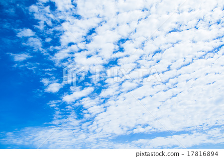 푸른 하늘, 파란 하늘, 구름 17816894