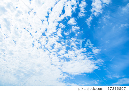 Clouds cotton cloud cumulus cloudy clouds or high cumulus blue sky white clouds autumn sky background material cloud blue sky synthesis background 17816897
