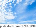 蓝蓝的天空 云 云彩 17816898
