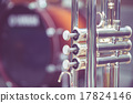 Trumpet on drum background 17824146