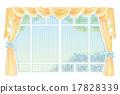 커튼, 창문, 윈도우 17828339