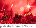 red christmas background 17828513