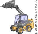 Vector compact wheel loader. 17835895