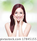 Beauty woman with charming smile 17845155