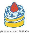 shortcake, cake, cakes 17845969