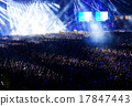 Crowd at concert 17847443