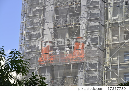 Building Elevator Under Construction Stock Photo 17857780 Pixta