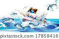 渔业 渔船 捕鱼 17858416