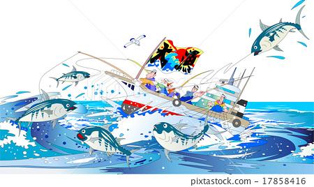 漁業 釣魚 捕魚 17858416