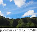 mountain, range, blue 17862580
