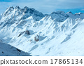 Silvretta Alps winter view (Austria). 17865134