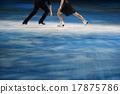 花式溜冰 聚光燈 冰 17875786