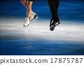 花式溜冰 鞋子 聚光灯 17875787