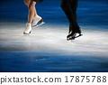 花式溜冰 鞋子 聚光灯 17875788