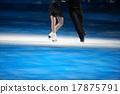 花式溜冰 聚光燈 冰 17875791