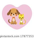狗和貓(心) 17877353