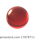 crystal red ball 17878711