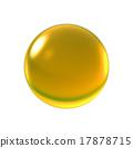 crystal yellow ball 17878715