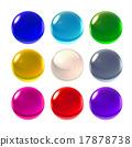 nine color crystal ball 17878738