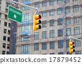 New York city traffic lights 17879452