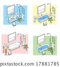 洗澡 浴缸 乾淨 17881785