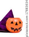 Halloween Costume on Isolated White Background 17883634