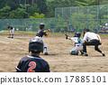 青少年棒球 男孩 棒球 17885101