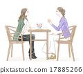 咖啡廳 女性 女 17885266