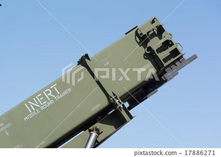 PAC-3 launcher facing the blue sky (INERT MRT) 17886271