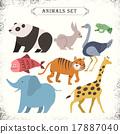 动物 插图 抽象 17887040
