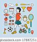 运动 练习 锻炼 17887251