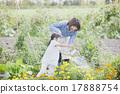 การทำสวนสำหรับพ่อแม่และเด็ก 17888754