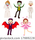 Halloween Children Costumes 17889228