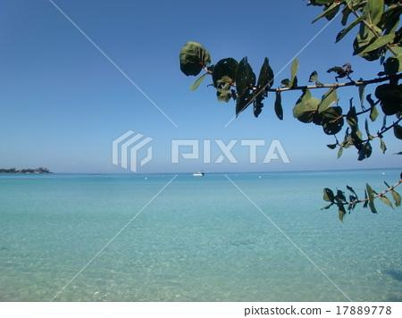 Jamaica's blue sky and sea 17889778