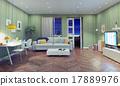 modern living room 17889976